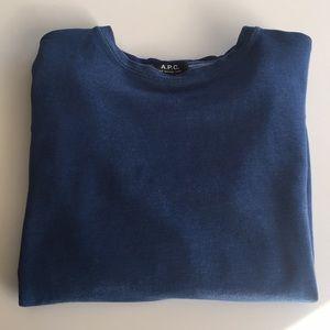Men's A.P.C Crewneck Sweatshirt